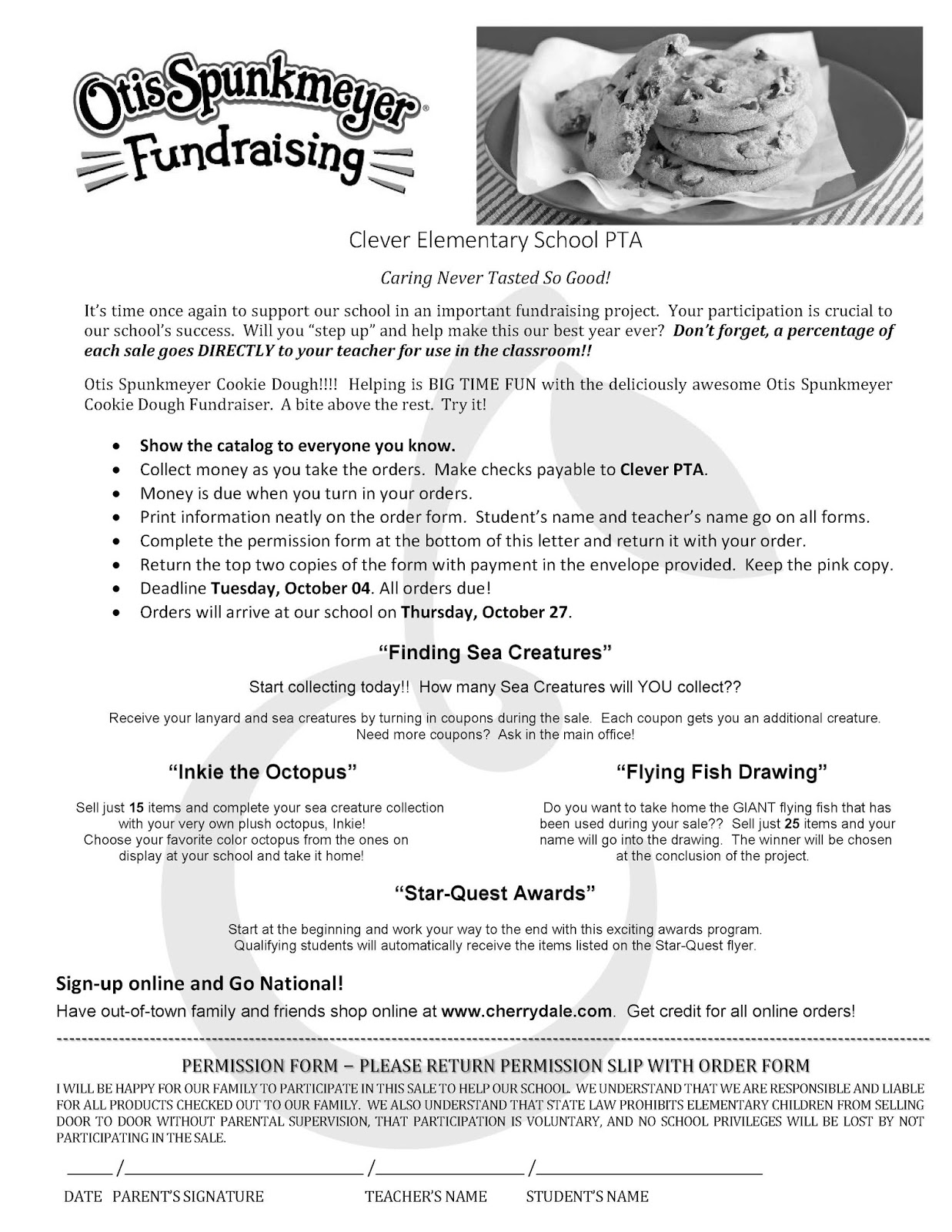 cookie dough fundraiser flyer anta expocoaching co